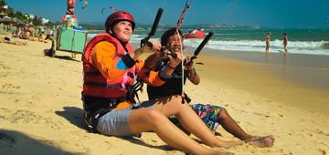 kiteboard lessons in vietnam
