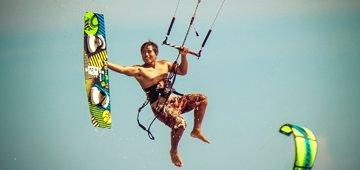 Hero 2 Zero Kiteboard Course learn to kitesurf in vietnam