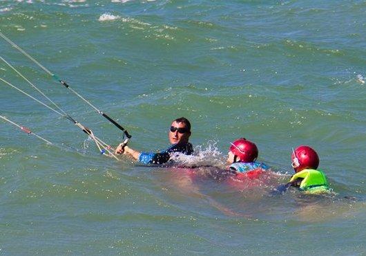 kiteboardin body drag