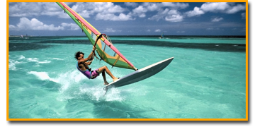 Windsurf lessons at Vietnam Kiteboarding School