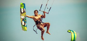 Hero 2 Zero Kiteboard Course learn to kitesurf in vietnam