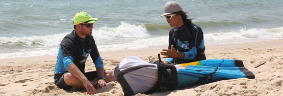 kiteboard lessons in Asia
