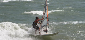 Advanced windsurfer