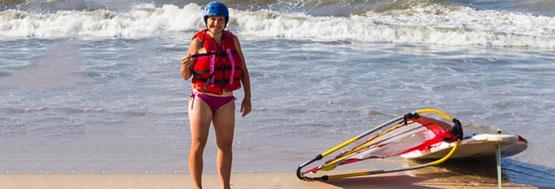 Beginners windsurfing lessons Mui Ne Vietnam