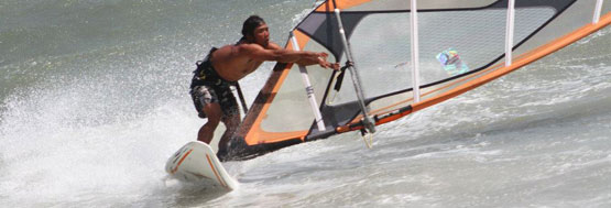 private windsurf lessons at VKS