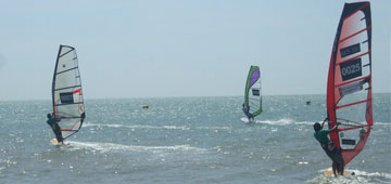 Professional windsurf lessons
