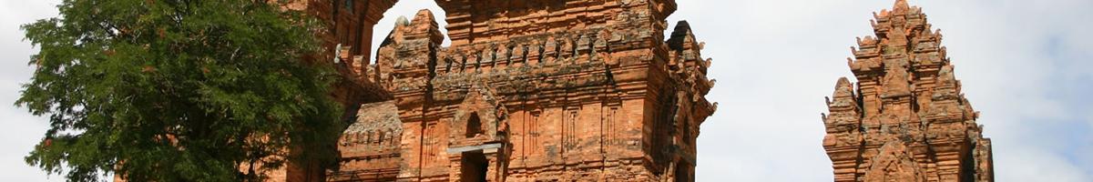 Cham Tower in Vietnam