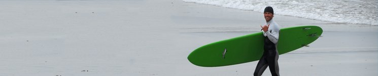 Jimmy Lewis surfboard rental in Vietnam