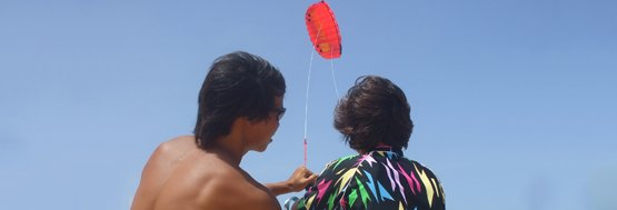 free kiteboarding introduction lesson