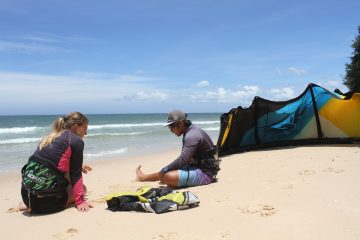 kiteboard lessons in vietnam